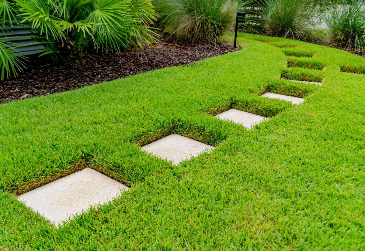 Backyard walkway design in Charleston, SC