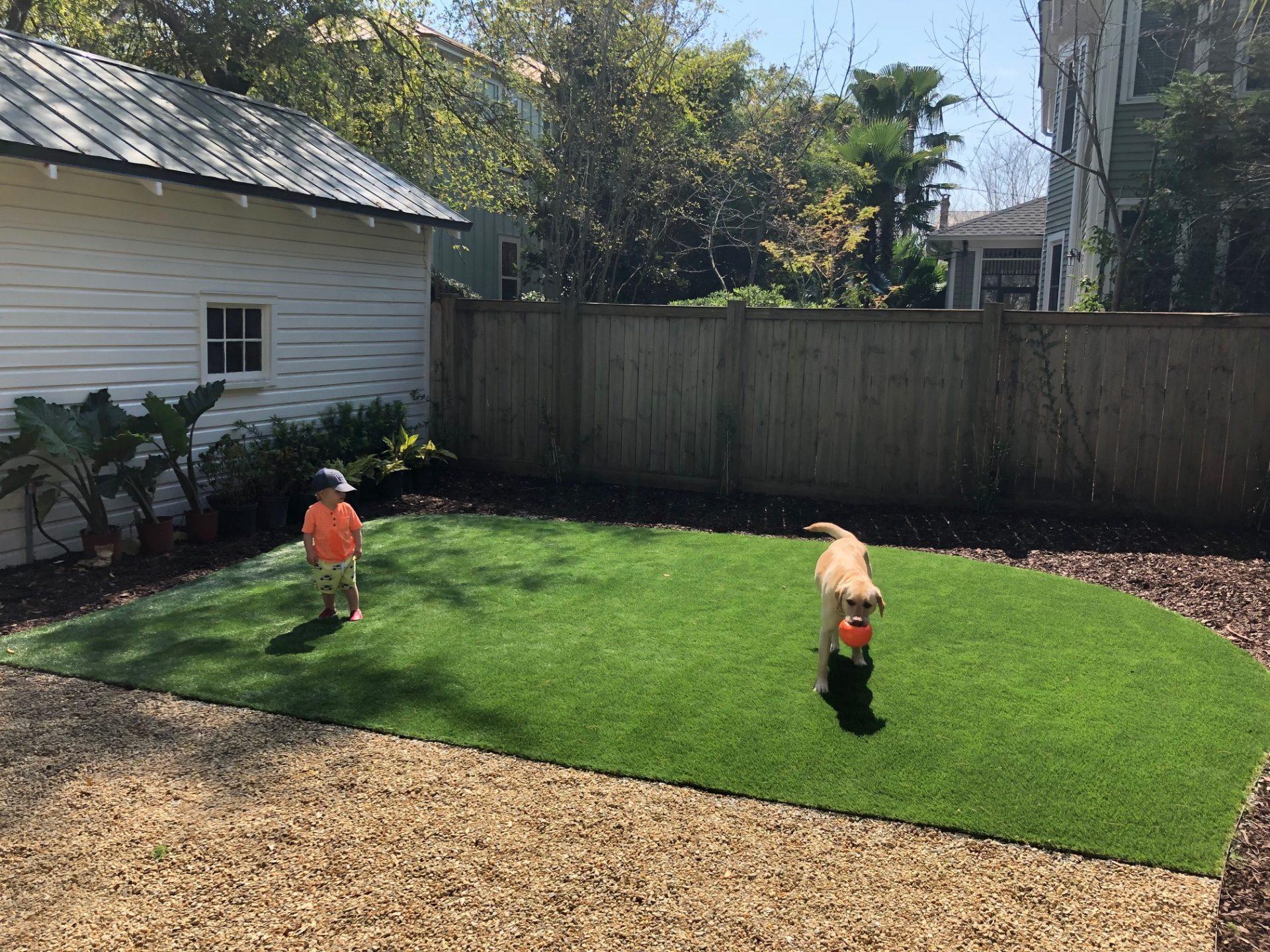 Artificial Lawn in Charleston, SC